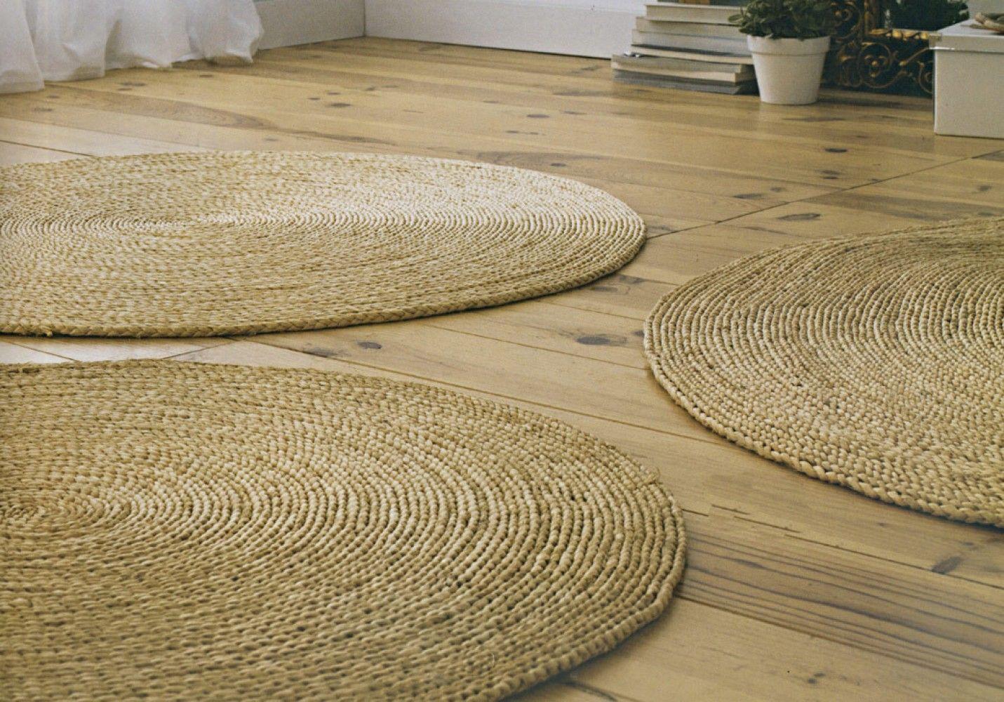 inspirant tapis rond osier ikea home