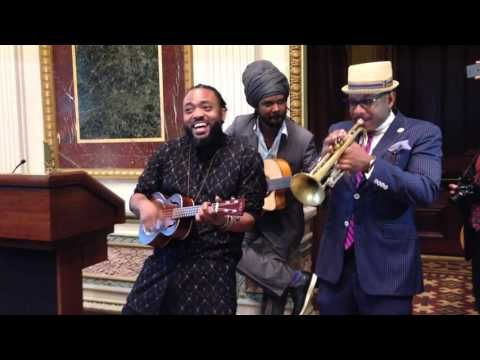 YouTube Marchel Montano perform at the Whitehouse.... Heritage month at the White House.
