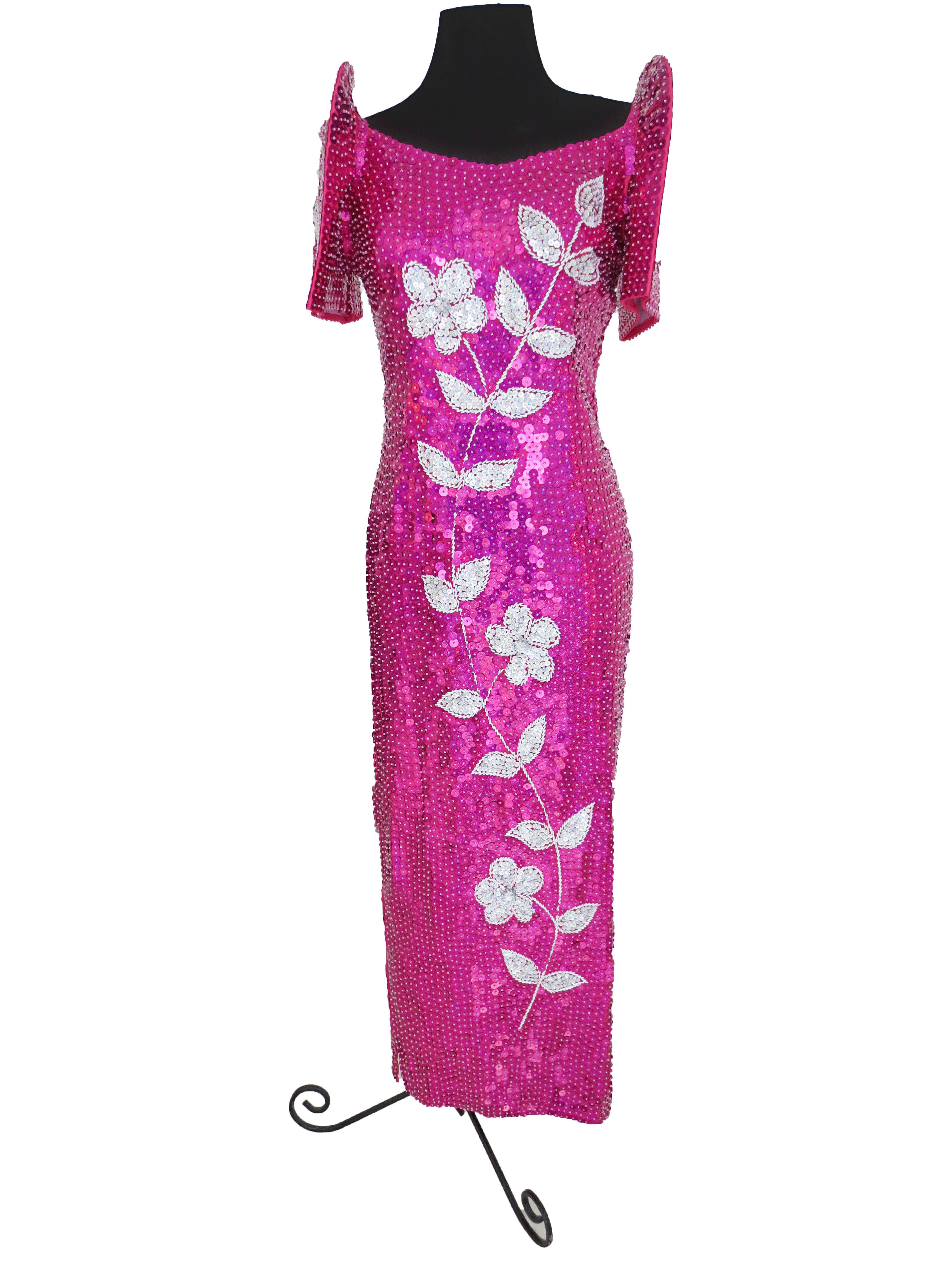 Modern Pink Filipiñana Filipinana Gown For Rent Php1000 Only Www