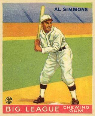 Al Simmons - Philadelphia Athletics - 1953