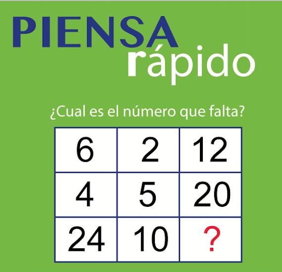 Acertijos Matematicos Resueltos Buscar Con Google Spanish