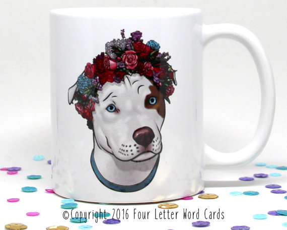 Valentines Day, Valentines Day Gift, Gift for Her, Gift for Him, Girlfriend Gift, Bestfriend Gift, Dog Coffee Mug, Dog Lover Gift