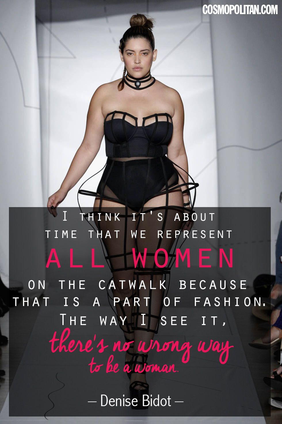 Plus-Size Model Denise Bidot: Its About Time We Represent All Women on the Catwalk