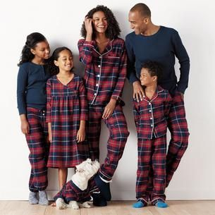 d2883901aef Family Flannel Pajamas - Red Plaid