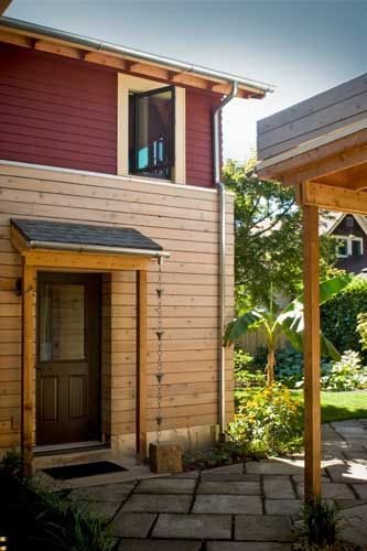Exterior Of Mudroom Addition In Portland Oregon I Love The Porch: Building Design, Residential Contractor, Passive House