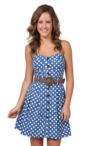 Deb Polka Dot Dress