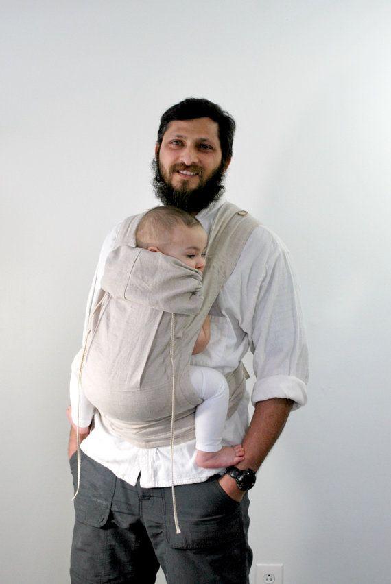Cabestrillo para beb/é color beige Minimonkey