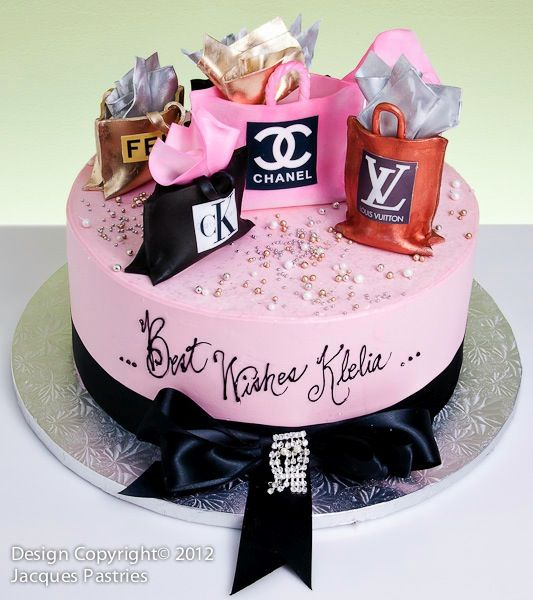 Fashion Cakes | Girl cakes, 18th birthday cake, Birthday ...