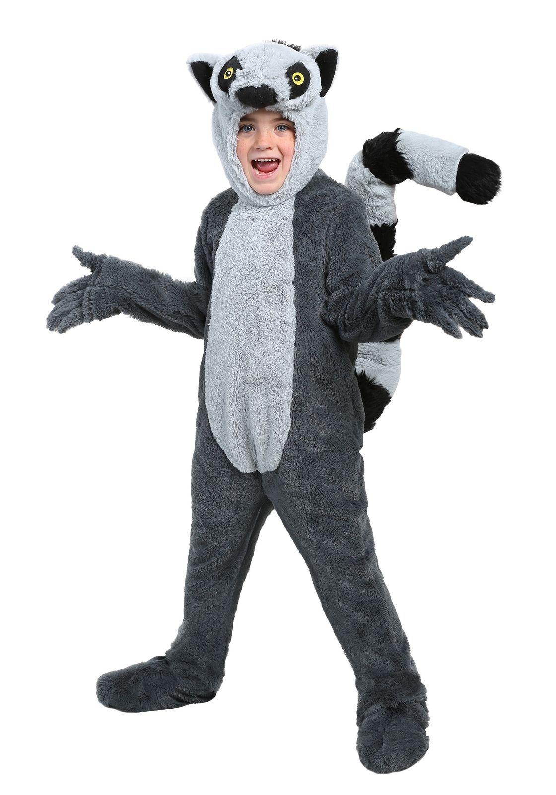 Child Lemur Costume | Diy halloween costumes for kids ... - photo#14
