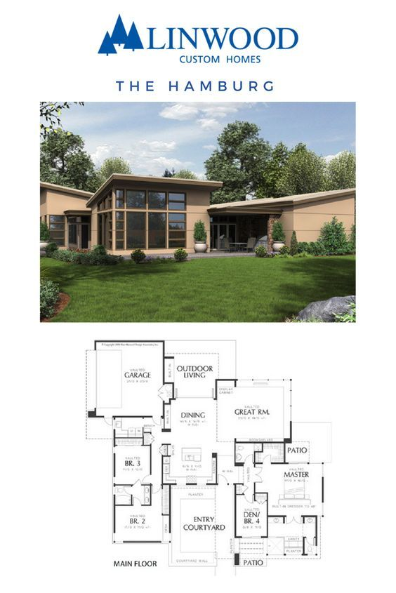 Bungalow Hamburg a beautiful entry courtyard and outdoor living area provide extended