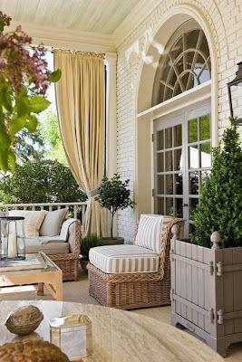 the designers muse pretty porches - Pretty Porches And Patios
