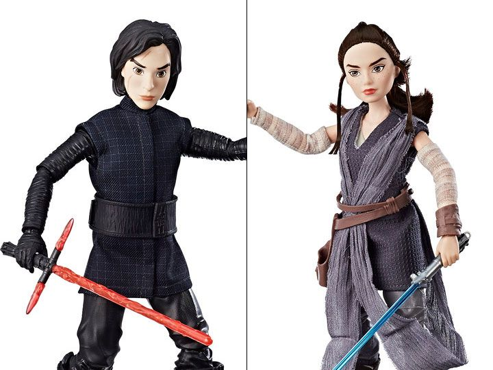 Star Wars Forces of Destiny Rey of Jakku and Kylo Ren Figure 2-Pack