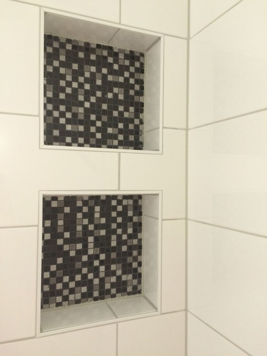 nissen badkamer mozaiektegels badkamernis pinterest badkamer