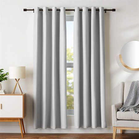 Modern Curtains 2018 35 X 108 Blackout Window Drapes Window