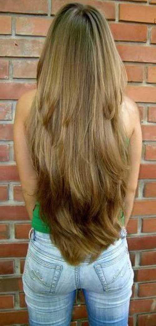 Very Long Layered Hairstyles 43