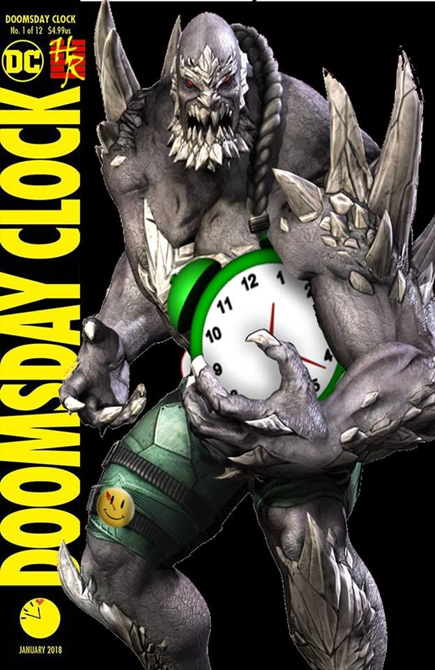 The Doomsday Clock 1 Retailer Exclusive Variant You Ll Never See