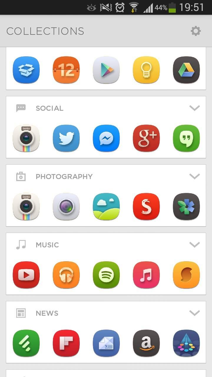 Aviate, the smartest launcher for Android OS and beautiful