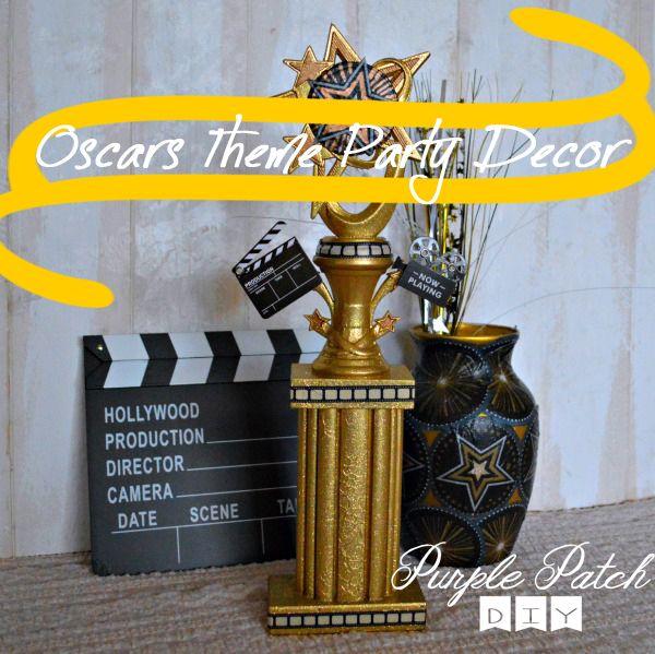 Oscar Themed Party Decoration Ideas Part - 29: Oscars Theme Party Decorations