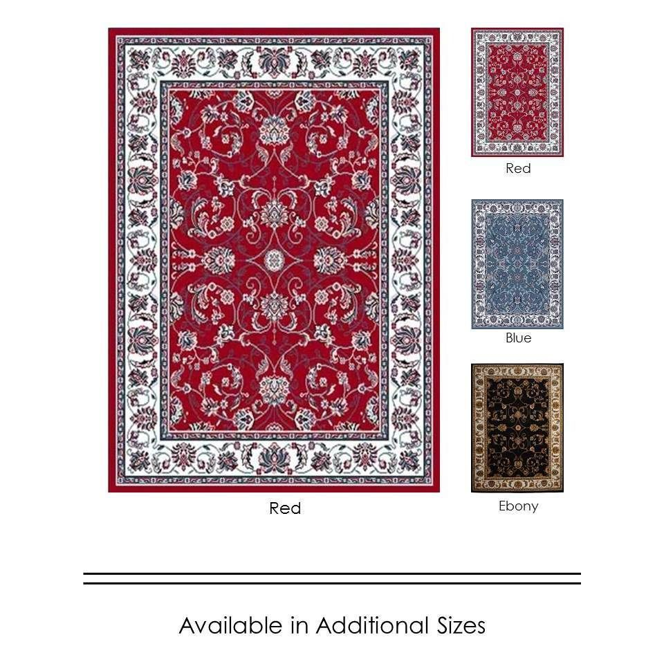 home dynamix premium collection traditional area rug (7'8x10'7