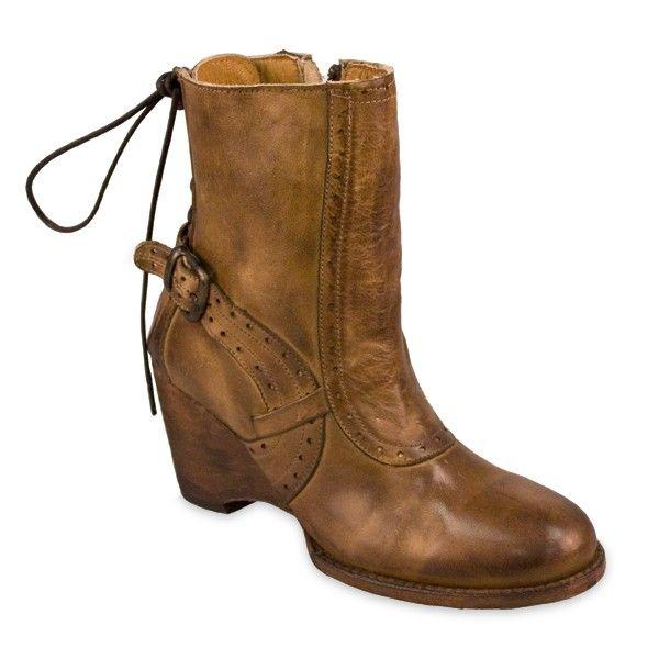 Bed Stu Cobbler Annabelle Tan Rustic Boots $220