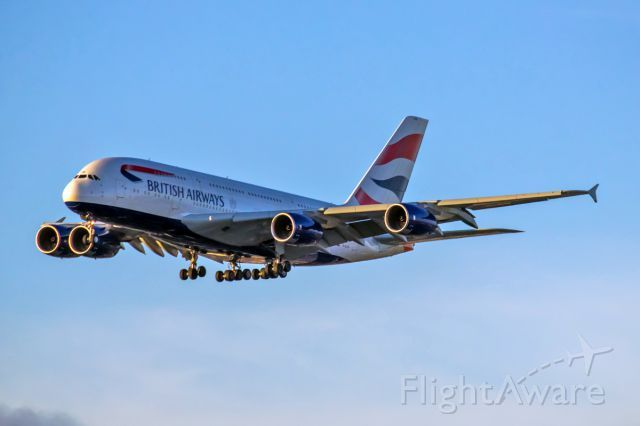 Photo of British Airways A388 (G-XLEB) ✈ FlightAware | Aircraft ...