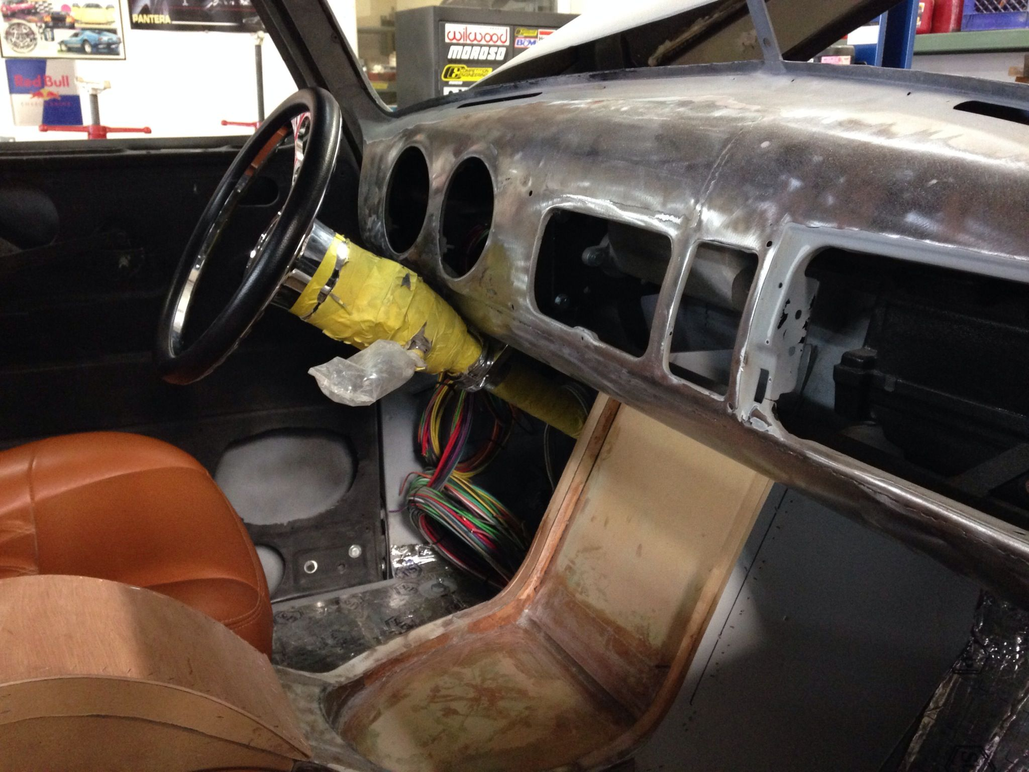 1953 Chevy Truck Interior Work More To Come Chevy Trucks