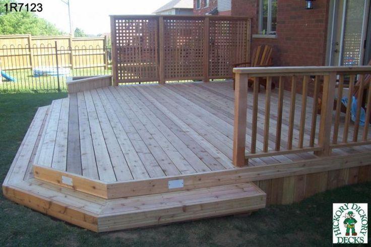 Multi Level Decks Design And Ideas Patio Deck Designs Decks Backyard Building A Deck