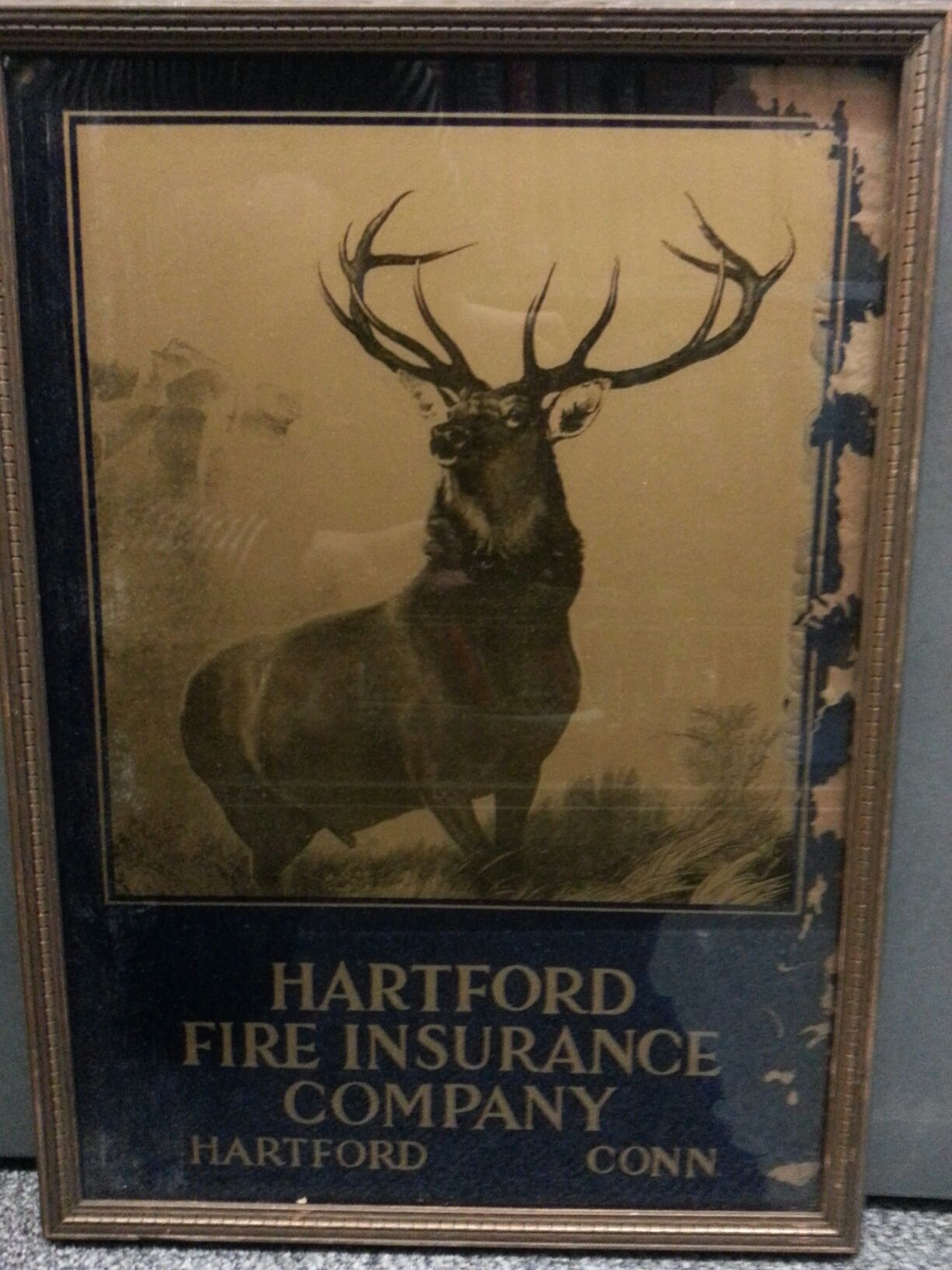 Hartford Fire Insurance Advertising Signs Insurance Company