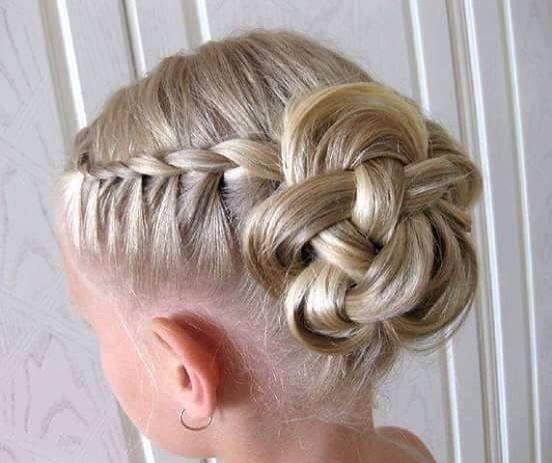 Peinado Chongo Para Ni 241 A Peinados Con Trenzas Peinados