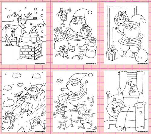 Winter, Weihnachten, Malvorlagen, kreativ, malen | Vorlagen ...