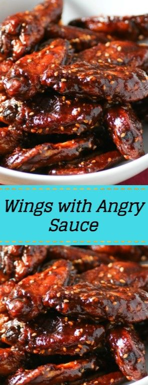 Tasty Wings with Angry Sauce images