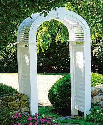 Freeport Custom Arbor Walpole Outdoors Garden Arbor Garden Walkway