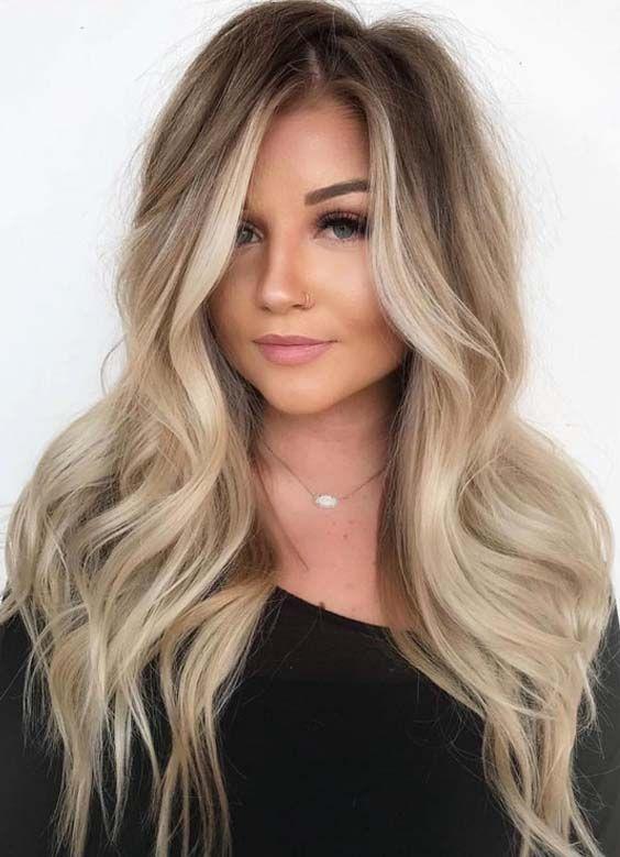 stunning balayage hair colors