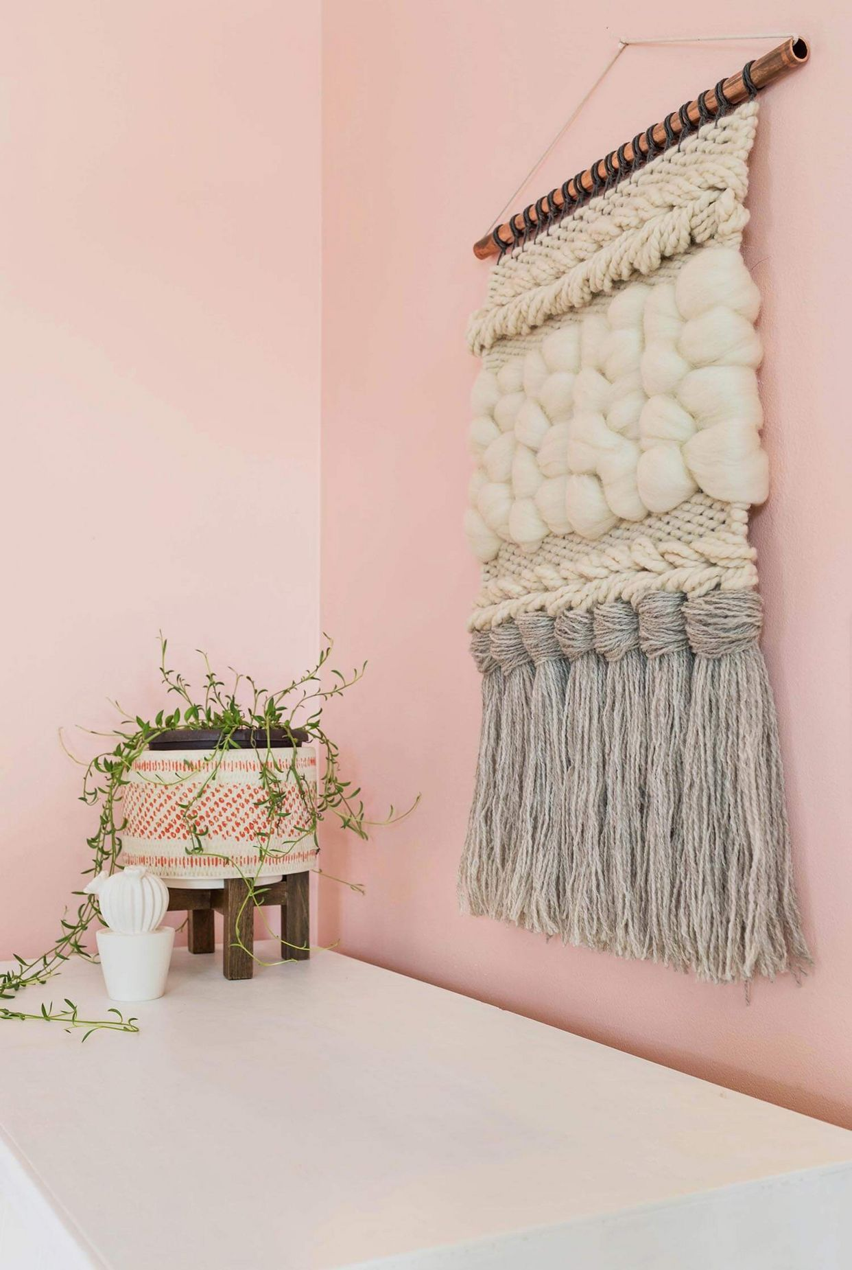 Quick Weave Wall Hanging DIY A Beautiful