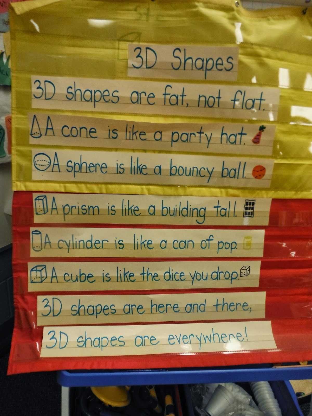 Kindergarten Play Based Learning 3d Shapes