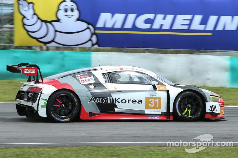 31 Team Audi Korea Audi R8 Lms Gt3 Kyong Ouk You Marchy Lee Alex Yoong In 2020 Audi Audi R8 Motorsport