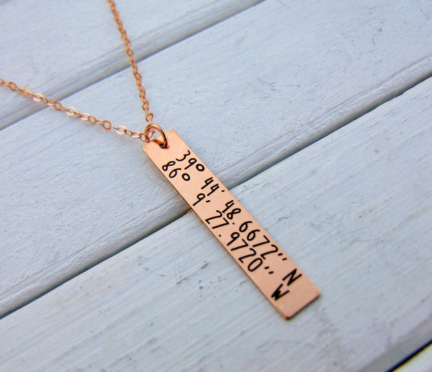 pendant il in gps gold rose coordinates zoom fullxfull mountain listing en necklace