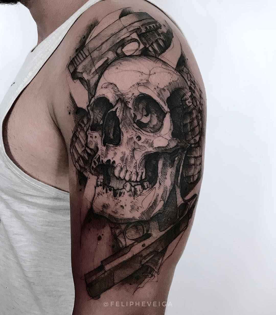 Tattoo artist Feliphe Veiga authors style black sketch tattoo, blackwork   Brasil   #inkppl #inkpplcom #inked #ink #inktattoo #tattoo #tatts #tattooartist #tattooing #tattoos #tattooist #art #artist #tattooed #inkedpeople #design #татуировка #тату #sketchwork #blacktattoo #sketchtattoo #designtattoo #sketchtattooing #lineworktattoo #linework #abstract #sketch