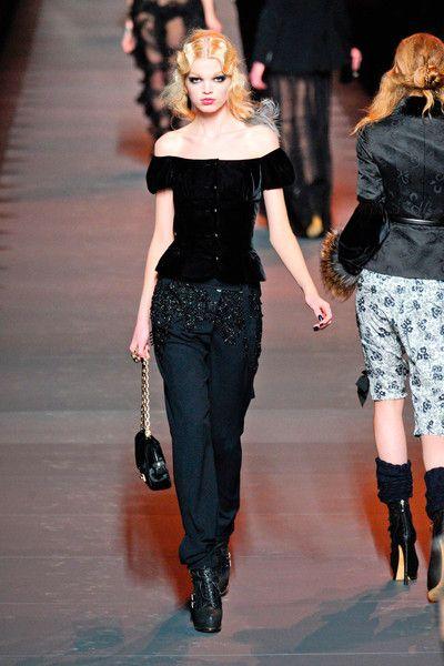 Christian Dior at Paris Fall 2011
