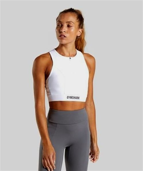 Gymshark Non Stop Sports Bra - White #rezeptezumabnehmen #gesundheits #rezepteabendessen #rezepteveg...