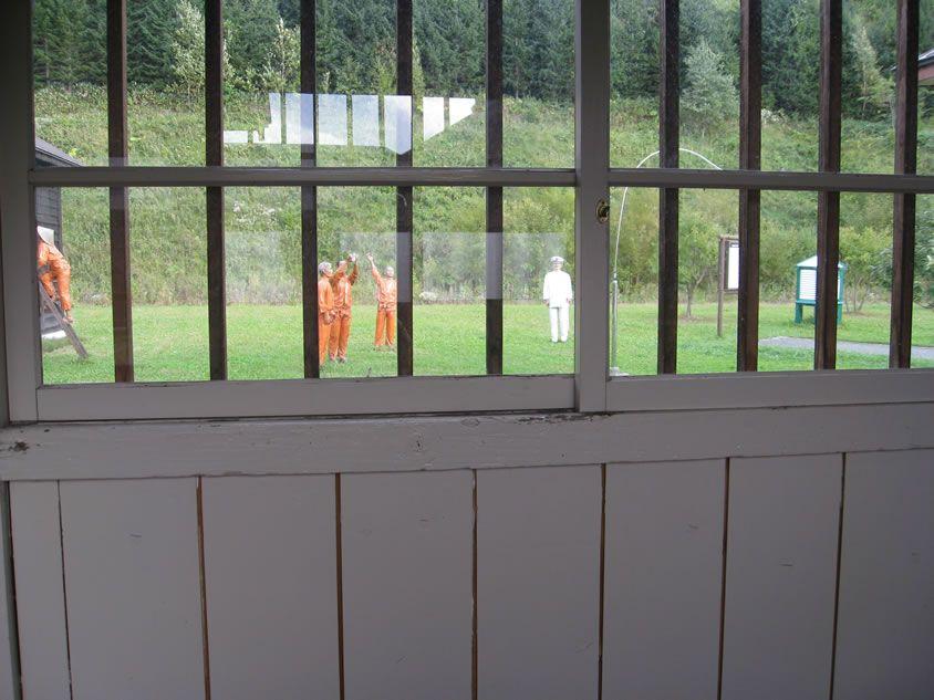 網走監獄 塀の中からの景色 監獄 刑務所 網走