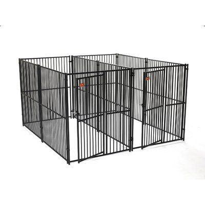 Newest No Cost Jewett Cameron European Style 2 Run Wide Yard Kennel Concepts A secure place for your dog A dog kennel is a great selection to provide your dogs secure lea...