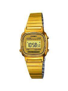 Steinhart Uhren Casio Collection Damen Armbanduhr Digital Quarz La670wega 9ef Retro Uhren Casio Uhr Casio Gold