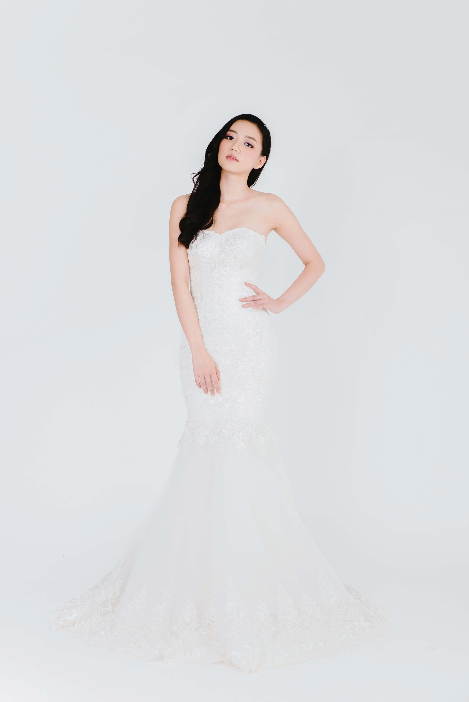 Rent wedding dresses  Harper  Wedding Gowns  Rent  MadetoMeasure  Bridal Bo