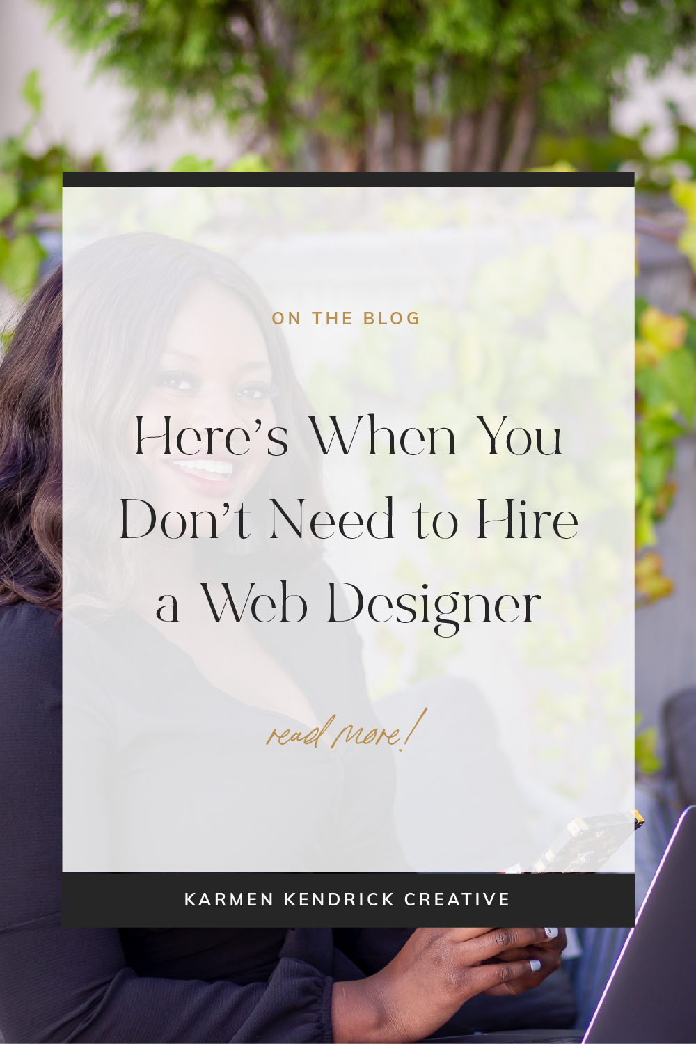 Here S When You Don T Need To Hire A Web Designer Web Design How To Find Out Design