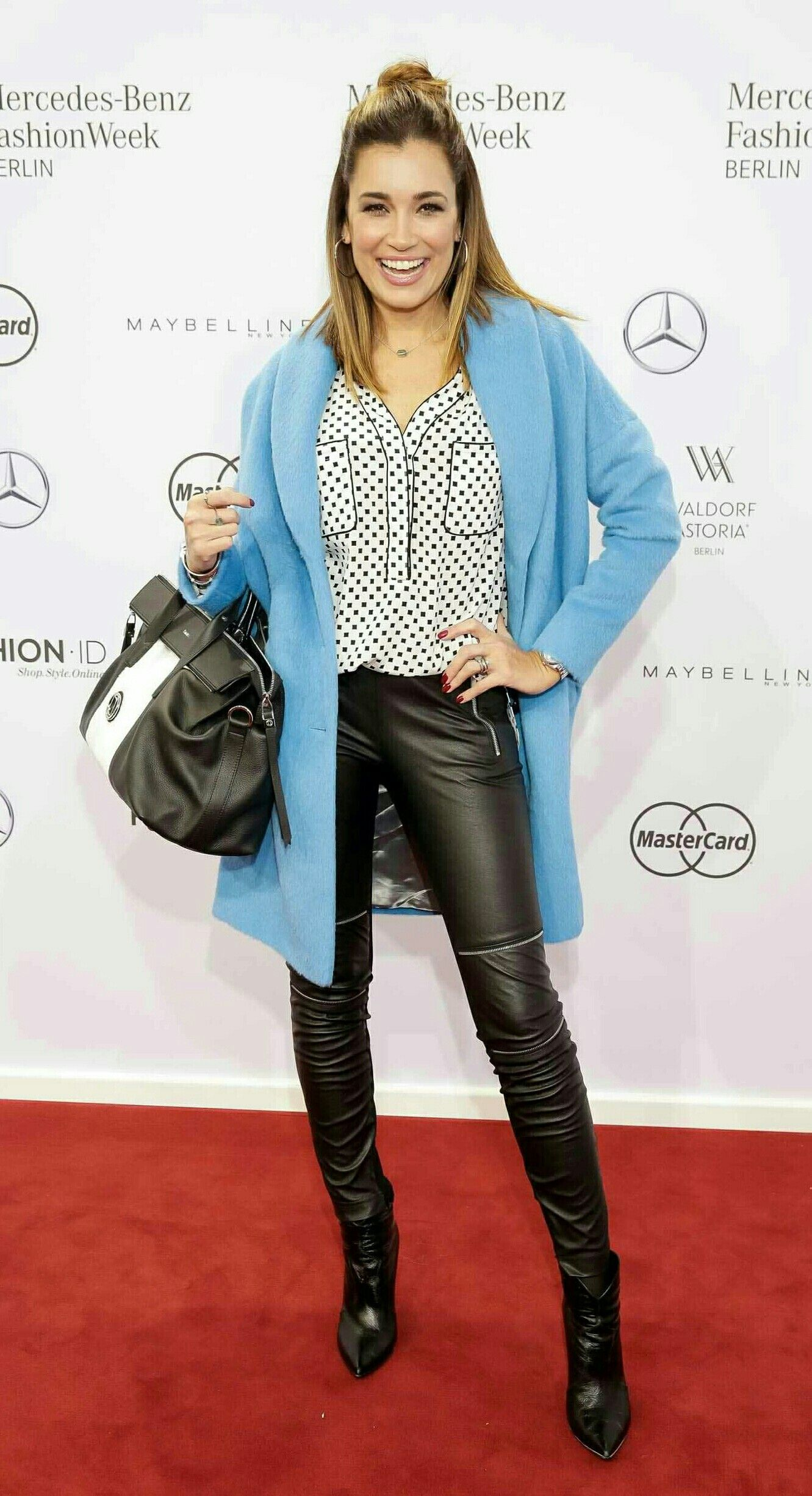 Jana Ina Zarella Fashion Pinterest Leather Trousers