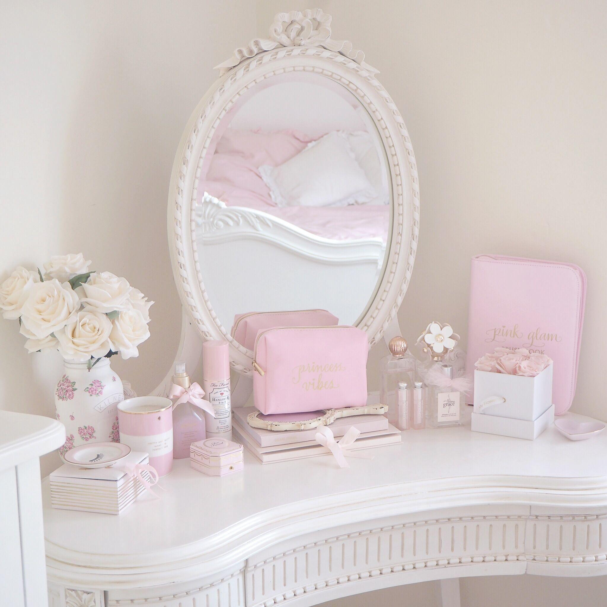 Styling My Princess Dressing Table, Girly Bedroom, Vanity ...