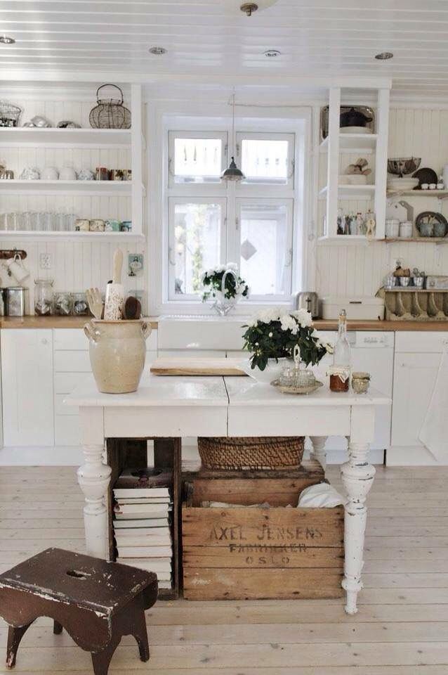 Cucina Shabby | Awesome | Pinterest | Kitchens, Kitchen design and ...