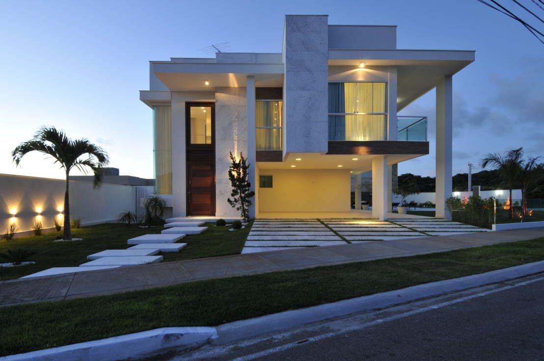 9 fachadas de casas espectaculares fachada de casa for Fachadas contemporaneas