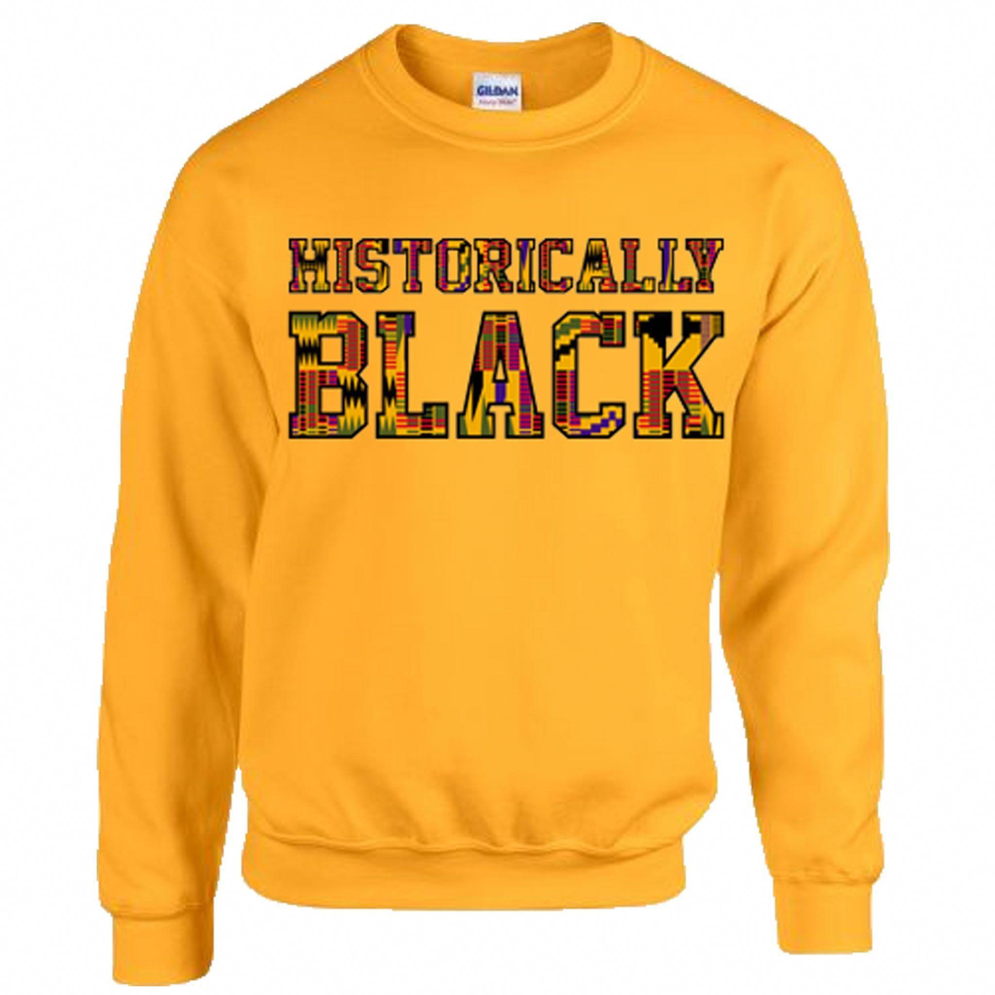 Blacker College Sweeter Knowledge Afro African Inspired Sweatshirt